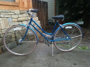 Big Blue Schwinn