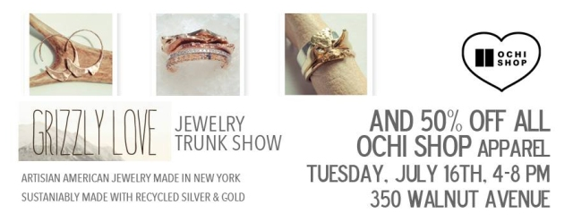 Grizzly Love Trunk Show